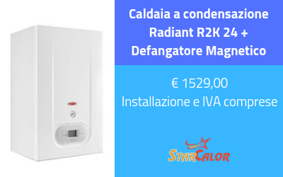 Caldaia a condensazione Radiant R2K 24 + Defangatore Magnetico ...